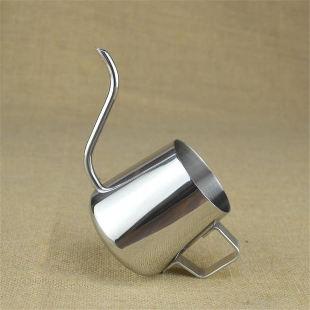 Realand Top Quality 18/8 Stainless Steel Gooseneck Pour Over Coffee Maker Hanging Ear Drip Coffee Long Spout Pot Tea Kettle 3
