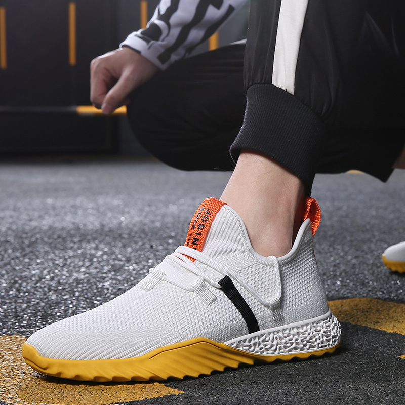 Fashion wild new sports style casual mens single shoes fly spinning woven mesh tide shoes mens low to help mens shoesFashion wild new sports style casual mens single shoes fly spinning woven mesh tide shoes mens low to help mens shoes