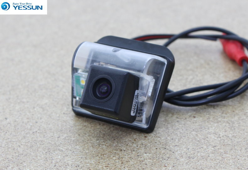 YESSUN Rear Camera For Mazda CX5 Cx-5 2012~2016 Car Rear View Back Up Reverse Parking Camera Waterproof Night Vision CCD+CAM