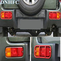 DNHFC Автомобильная задняя противотуманная фара щит для Suzuki jimny 2005 2006 2007 2008 2009 2010 2011 Автомобильные аксессуары