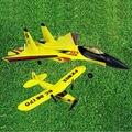 2015 mejor populares RC Modelo del combatiente FX861 Eléctrico manía del rc Modelo de avión de 2 Canales rc avión Eléctrico DEL RC Planeadores VS BF-109