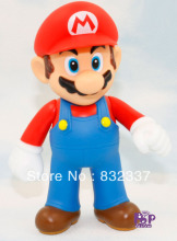 High Quality Super Mario Bros PVC Mario in red hat font b Action b font font