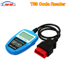 Free shipping Mini T59 Code Reader t59 Powerful Enough to Retrieve Same Information Scanners CAN OBD OBD2/EOBD Tool