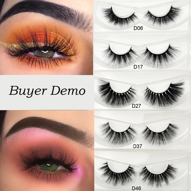 d4dc568a945 Visofree 3D Silk Eyelashes Hand Made Natural Long Faux Mink Lashes Vegan  Cruelty Free False Lashes Extensions Maquiagem Makeup