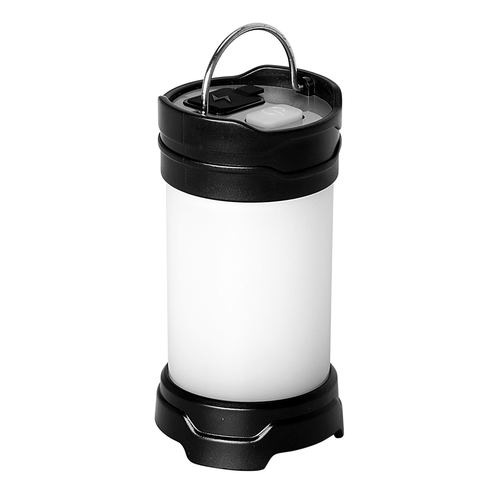 ITimo USB Rechargeable/Battery Flash LED Tent Lanterns White/Red Light Portable Light Power Bank Outdoor Camping Lamp 7 Modes