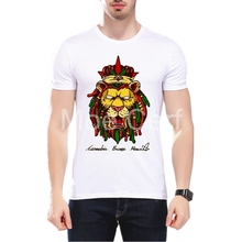 MOE CERF Hip Hop Summer T-Shirt Men Bob Marley 2pac Kanye Design Tops Funny Printed Tee Punk Camisetas Hombre L9-J-120