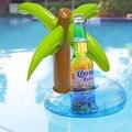 Flotador inflable del agua de baño juguete inflado palm tree portabebidas piscina favores de la fiesta de verano de los niños divertidos juguetes al aire libre