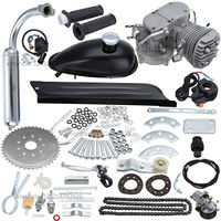 New fit 26/ 28 Bicycle 80cc 2 Strokes Motorized Gas Engine Bike Motor Kit
