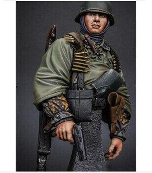 1/10 Scale Models WW2 German riflemen bust WWII resin bust Free Shipping
