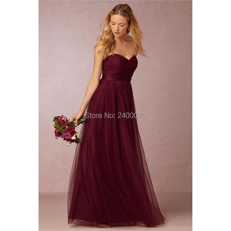 Maroon Wedding Gown: Aliexpress.com : Buy Annabelle Burgundy Sweetheart Pleated