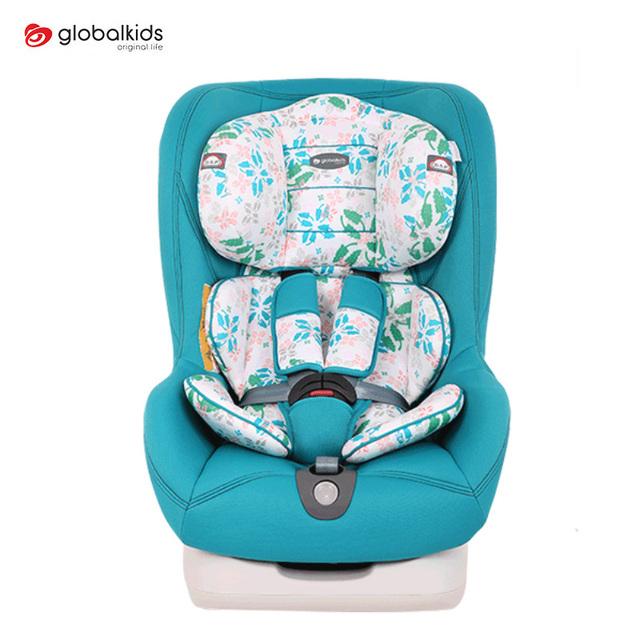 GLOBALKIDS Conversível Assento de Carro Do Bebê Para 0-4 Anos Crianças Arnês Ajustável Impulsionador