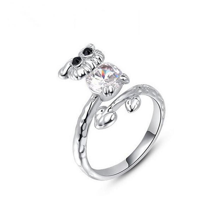 Popular Owl Engagement Ring Buy Cheap Owl Engagement Ring lots