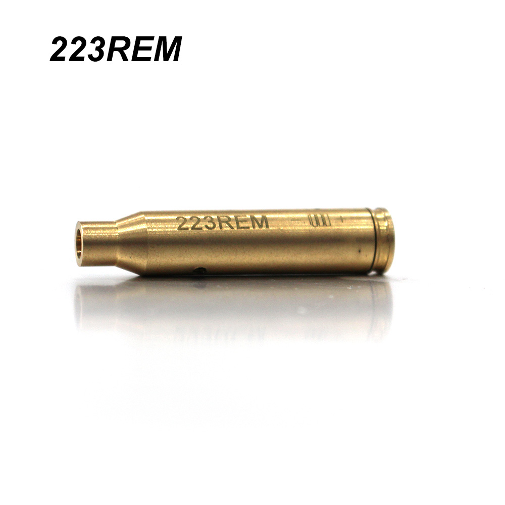 LUGER Red Dot Laser Brass Boresight 7 62x39 7 62x54 9MM CAL 38 223REM 308  Cartridge Bore Sighter For Hunting Rifle Scope