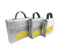 Free Shipping Lipo Guard Storage Bag Lipo Battery Safety Handbag Fireproof Explosion Proof For Aircraft Model