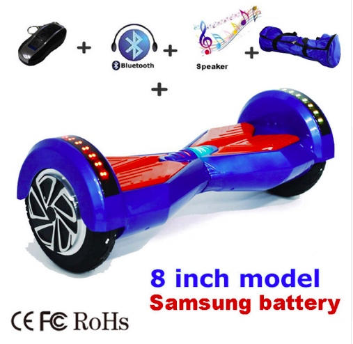 8 Inch Electric scooter Bluetooth Hover Board  Two Wheel Self - Cycling - Photo 6