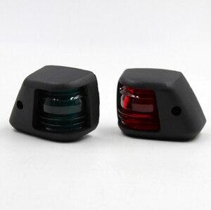 Image 3 - 1 пара красных зеленых светодиодных сигнальных ламп, мини навигасветильник 12 в морской лодки, яхты