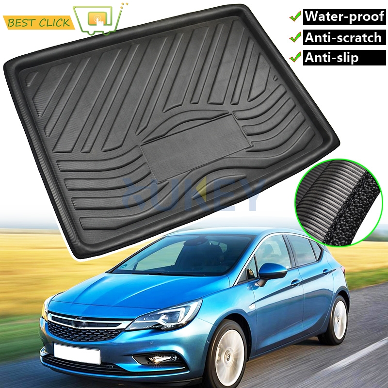 Anti-Scratch Cargo Boot Liner Tray Trunk Floor Mat Tray Carpet For Opel Vauxhall Holden Astra K BK 2015 2016 2017 2018 2019