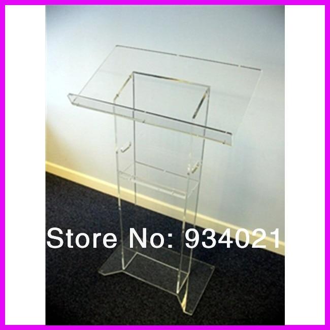 Modern Design Acrylic Lectern Plexiglass