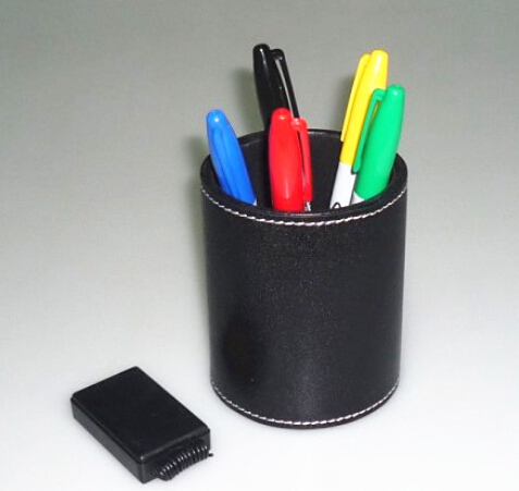 Color Pen Prediction with Leather Pen Holder Magic Tricks Magician Stage Close Up Illusions Accessory Gimmick Mentalism Funny horizontal card rise magic tricks stage card accessory gimmick props mentalism classic toys