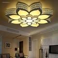 Светодиодная лампа в форме цветка лотоса  потолочная лампа для гостиной  спальни  лампа для учебы  коммерческое офисное пространство  потол...