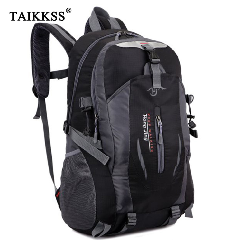 2018 Fashion school bag Waterproof Nylon men Backpack Bag women mochila Escolar Travel Bag Rucksack trekking bag Large Capacity