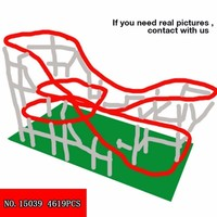 15039 Roller Coasters Lepin Assembly Square Set compatible Legoinglys 10255 10261 Creator Blocks Toys for Children