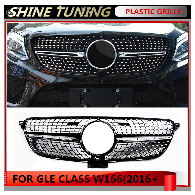 Diamond Grille Suitbale For Mercedes Benz GLE Class W166