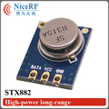 10pcs/lot high power Superheterodyne ASK Transmitter module STX882 433/315MHZ free shipping