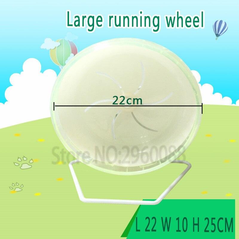 ingyenes szállítás Tengerimalac Silent futó 22cm többszínű - Pet termékek