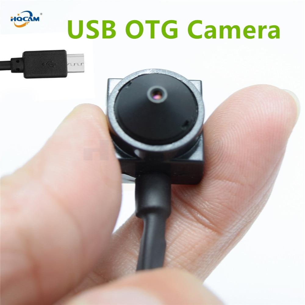 HQCAM 1080P 720P Micro 2 0MP 1 0MP size mini USB OTG Camera Mini Wide Angle