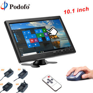 "Podofo 10.1 ""HD Car Headrest Monitor For Monitoring TFT LCD HD Digital Screen"