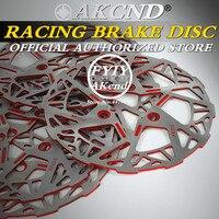 AKCND Motorcycle universal 245mm brake disc For yamaha rsz smax dio pcx front & Rear Brake System