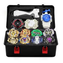 New 16 Styles Metal Beyblade BurstLauncher And Box Toys Arena Sale Bursting Gyroscope Emitter Spinning Bey Blade(China)