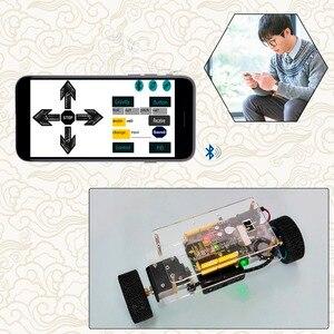 Image 3 - Keyestudi Kit de auto equilibrio para Arduino, Robot, juegos de eje, juguetes para niños, regalo de Navidad