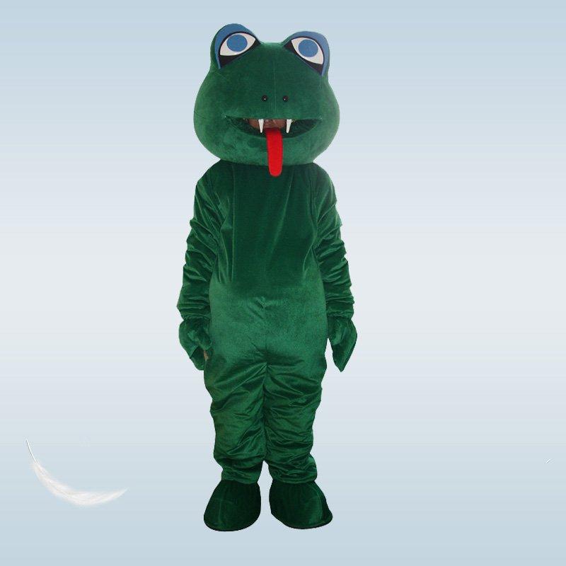 Cute Snake Mascot Costume Christmas Fancy Dress Halloween Mascot Costume for Halloween party event