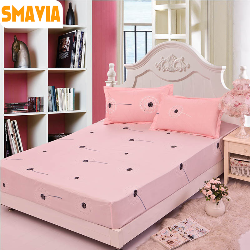 SMAVIA Bed Fitted sheet pillowcase (3pcs) bed sheet 120*200cm/150*200cm/180*200cm bed protection pad Mattress Protector sheet