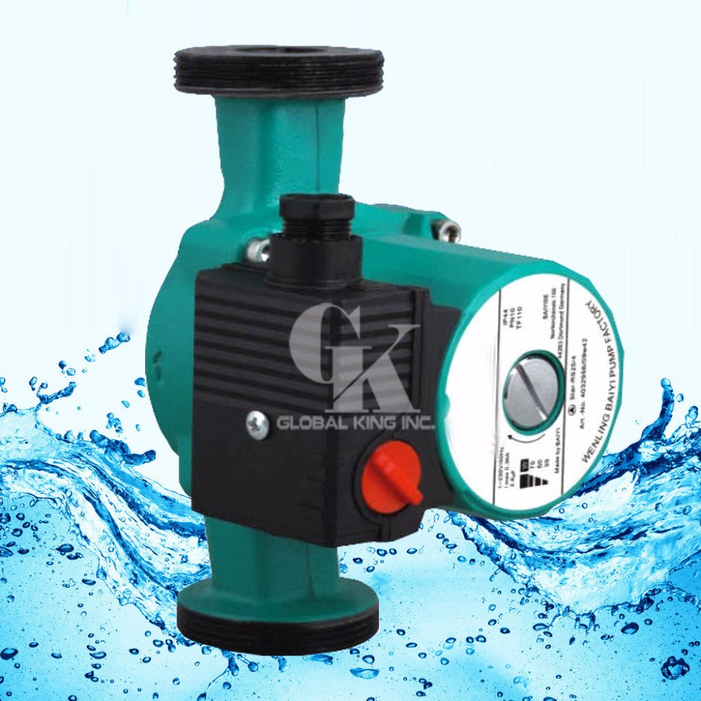 G 2''Low Noise Circulator Pump 3-Speed,220V Hot Water Circulation Pump for Heating Central g 1 1 2 hot water circulation pump 220v circulator circulating pump for floor heating system