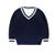 2016 del otoño del resorte suéter de los niños de los muchachos de la manga larga suéteres de algodón de la rebeca niño niños ropa exterior para 3-12 año 3 color