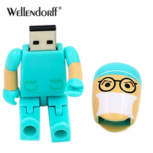 Usb Doctor and Nurse model USB flash drive 128gb 64gb pendrive 32gb 16gb 8gb 4gb