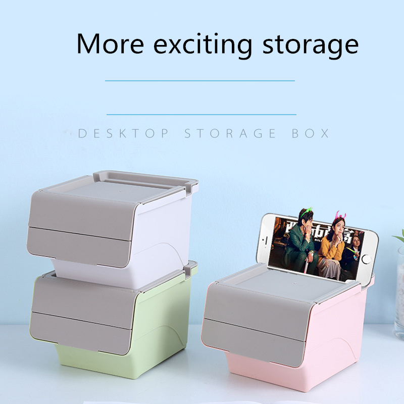 Coloffice Multifunction Stationery Holder Plastic Large Space Stationery Storage Box  Keep The Desktop Tidy Office Supplies 1PC