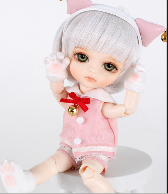 Free shipping Free shipping 1/8 bjd doll mile yellow-in Dolls from Toys & Hobbies    3