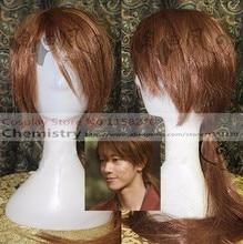Rurouni kenshin himura kenshin cosplay hairwear com boné