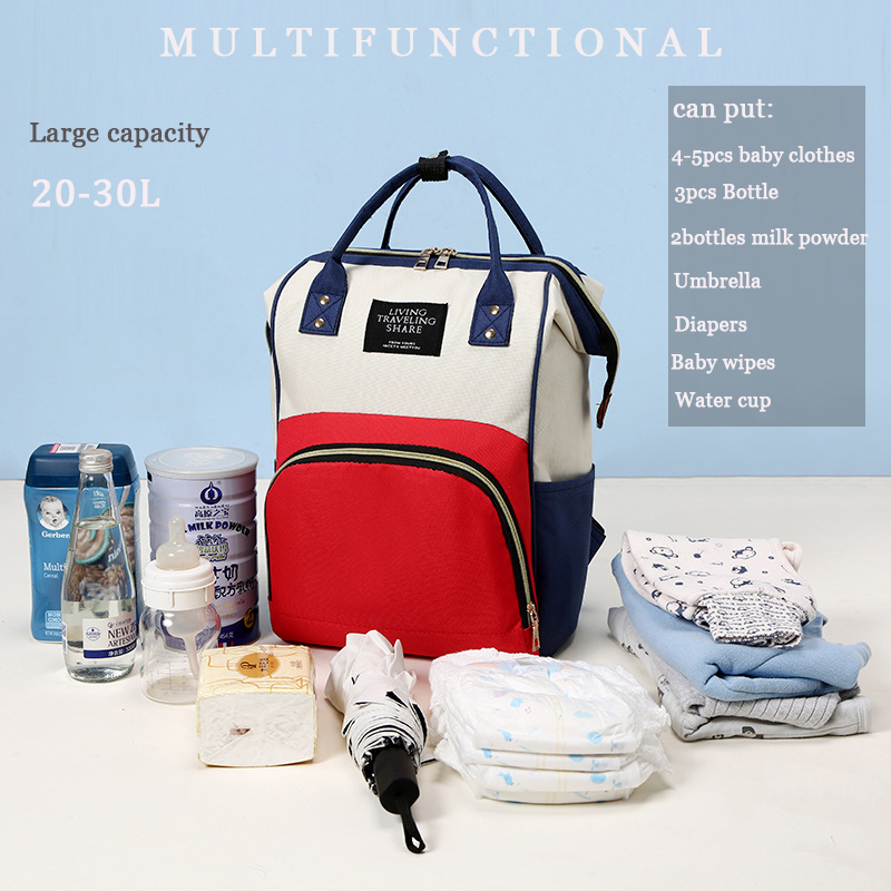 d7864e3af64 HOT SALE] Large Capacity Mummy Maternity Nappy Bag Outdoor Mom's ...