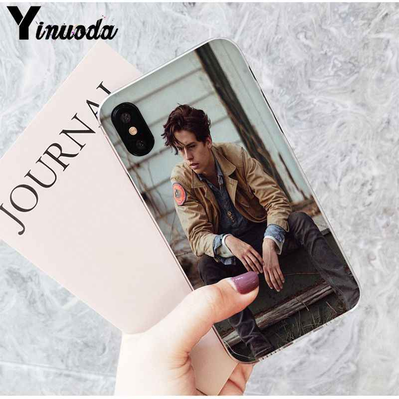 Yinuoda Riverdale Jughead Jones Transparent TPU Soft Silicone Phone Cover for iPhone X XS MAX 6 6S 7 7plus 8 8Plus 5 5S XR