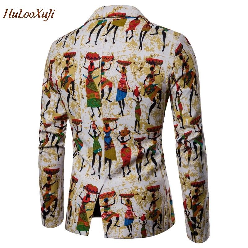 Hommes Coton Hulooxuji Américaine Imprimé Populaire Costumes Nouveauté D'affaires Lin 2xl x06 Xs Blazers Veste Vestes Nationalité X05 Taille tqr5r