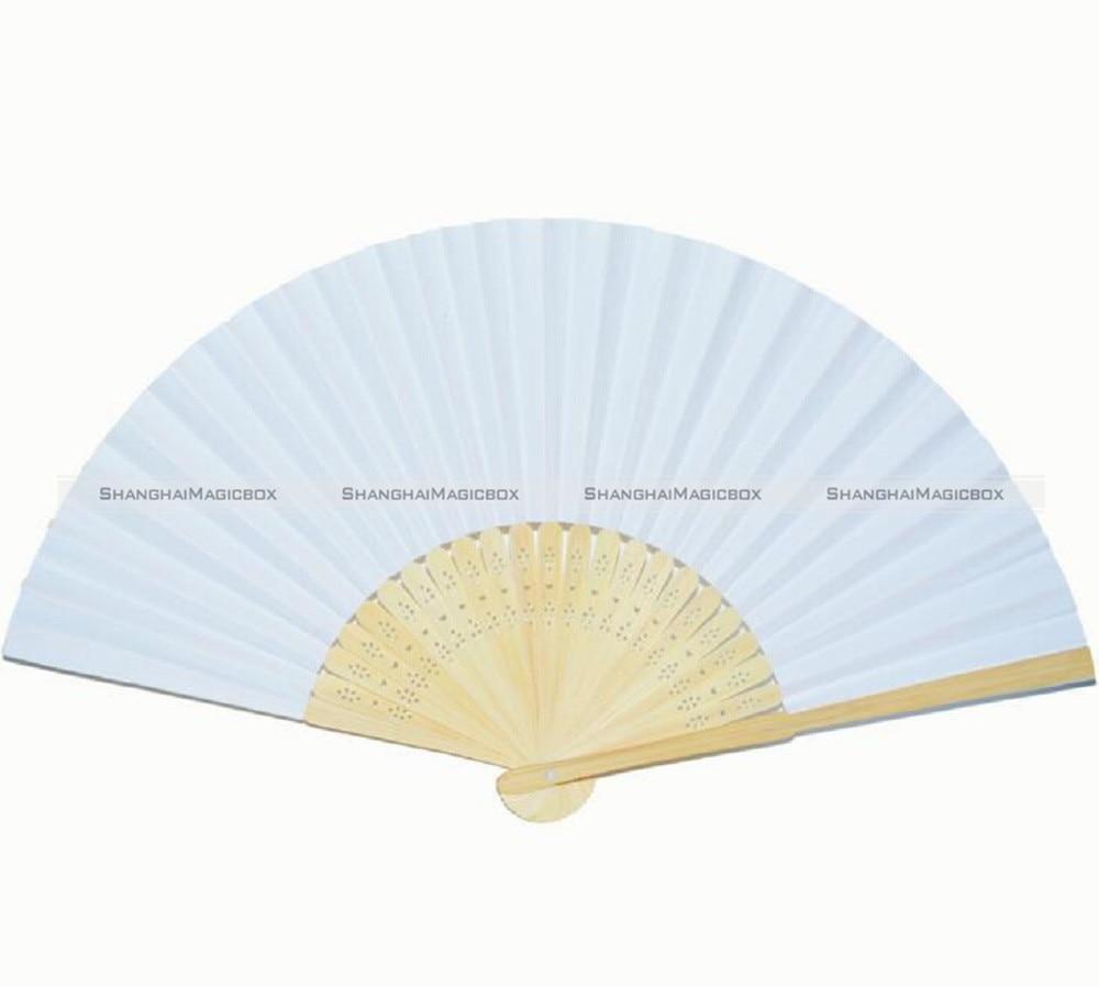 DIY White Paper Fans Wedding Party Decoration Favor Pocket Folding ...