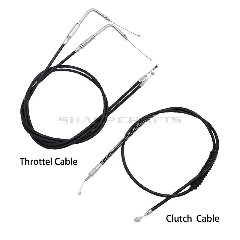 Modified Lengthened Extended Throttle Line Clutch Cable