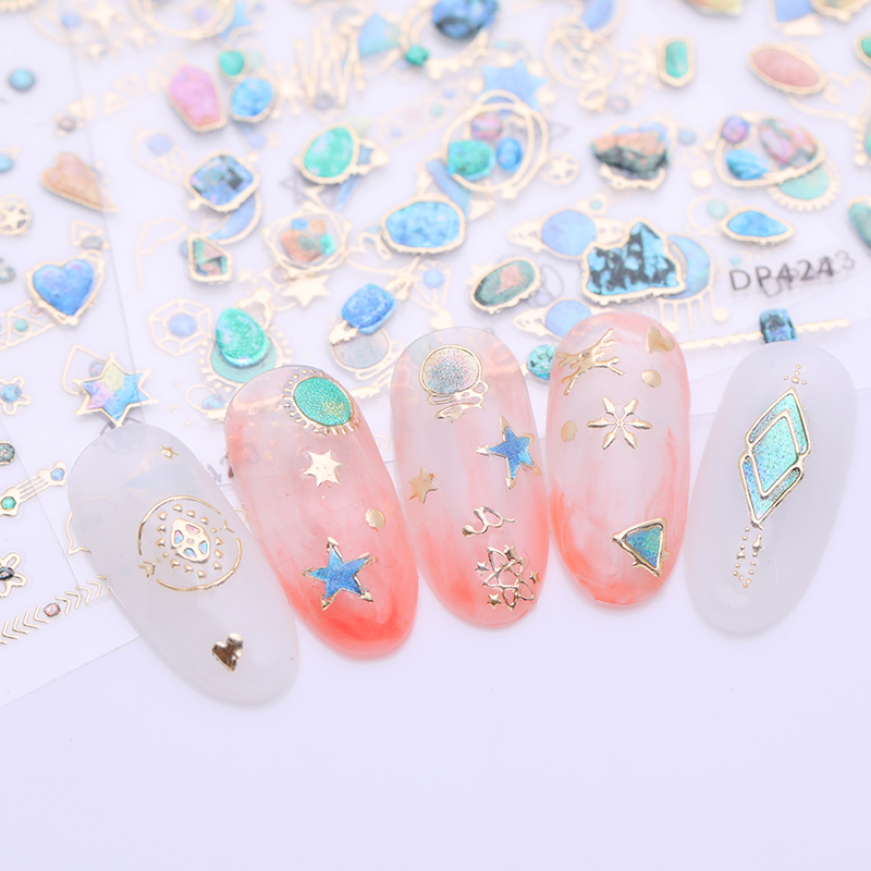 ALI shop ...  ... 32946405045 ... 4 ... 3D Nail Sticker Nail Art Decoration Gem Jewel Stone Adhesive Decals Transfer Sticker Manicure DIY Tools ...