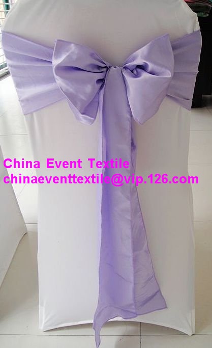 purple chair sashes for weddings patio cushions canadian tire ヾ ノ100pcs lilac wedding satin sash 100pcs events banquet party decoration