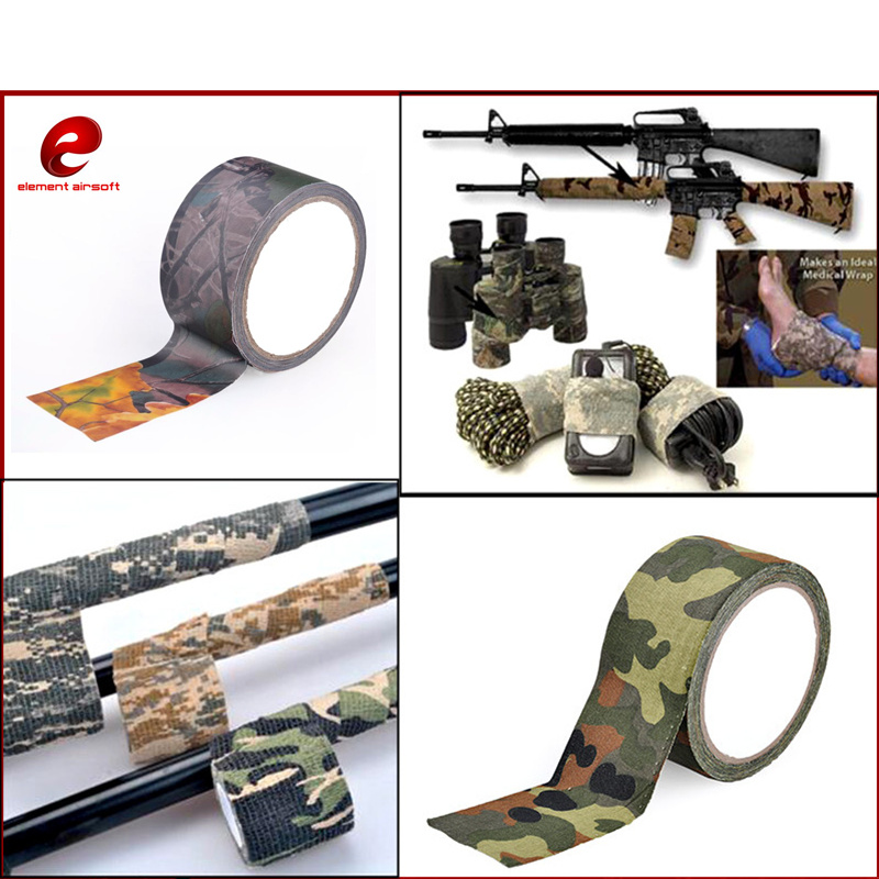 Element Camo Cloth Tape Military Airsoft Paintball Rifle Gun Accessories 5cm*1000cm EX389
